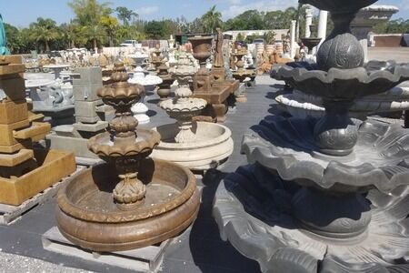 Fountains & Pottery