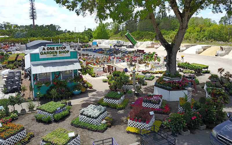What We Offer. A One Stop Garden Shop
